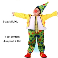 Circus Clown Costume Halloween Costumes For Boys Kids Clown Costumes Halloween Costumes For Kids