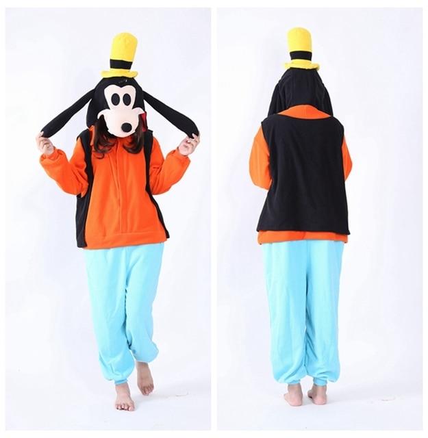 f46755aa4dbb  wiki s store New Designer kawaii Goofy fleece cosplay customes animal  Onesie Unisex adult jumpsuit all in one S-XL