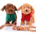 Новые электронные игрушки для животных пение ходить плюшевые собака электронная собака интерактивные игрушки детям игрушки подарки