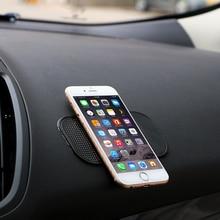 3 шт./лот мощный силиконовый автомобиля Нескользящие Коврики магия тире Коврики Dashboard Липкий Коврик для телефона GPS PDA Нескользящие Pad автомобилей стикеры