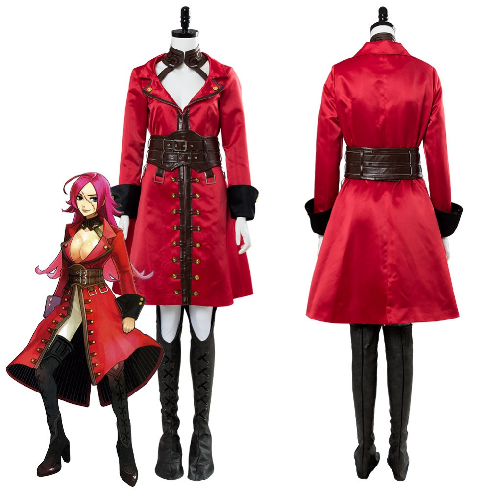 Fate EXTRA Last Encore Francis Drake Cosplay Costume Original Version Adult Women Halloween Carnival Costumes Custom Made image