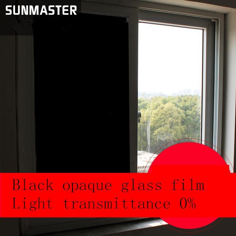 60 100 Cm Noir Opaque Depoli Fenetre Films Vinyle Statique Cling