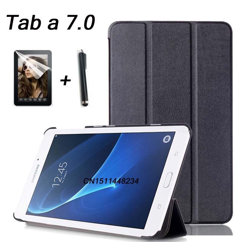 Pour Samsung Galaxy Tab A 2016 7.0 T280 T285 Haute qualité mode En Cuir Housse Pour Samsung Tab a6 7.0 couverture