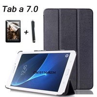 For Samsung Galaxy Tab A 2016 7 0 T280 T285 Case High Quality Fashion Business Leather