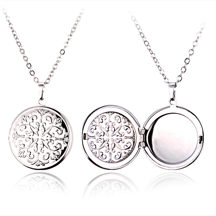 Pendant necklace fashion flower photo frame floating photo locket pendant necklace fashion flower photo frame floating photo locket 18k gold plated necklace pendant charms jewelry gift p520 in pendants from jewelry aloadofball Choice Image