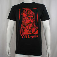 DRACULA VLAD TEPES The Impaler Photo Portrait T Shirt S M L XL 3XL NEW T