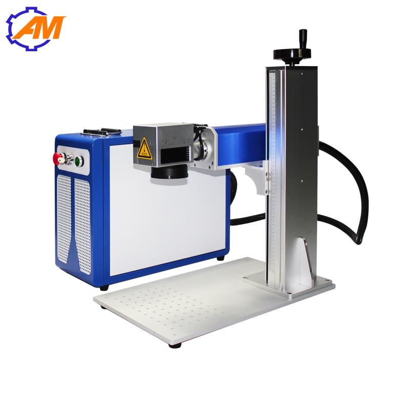 Nový 20W vlákno laserové značkovací stroje cena 300x300mm z - Zařízení na obrábění dřeva - Fotografie 3