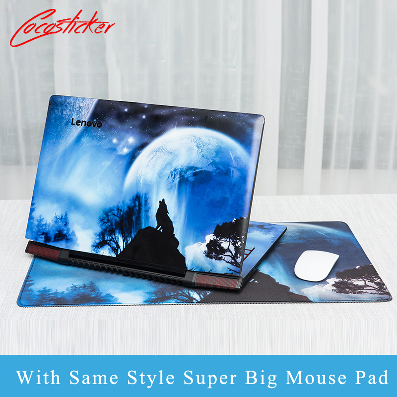 Laptop Stickers with Same Style Mouse Pad For Lenovo B4450S/B4400S/B490S/M4400S/M495S/M490S/M495/M490/G500/G505/B490 laptop Skin