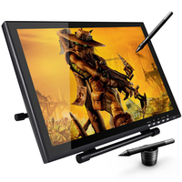 UG1910 19 Inch LED Graphic Drawing Monitor Digital Pen For Graphic Drawing With Rechargeable Pen