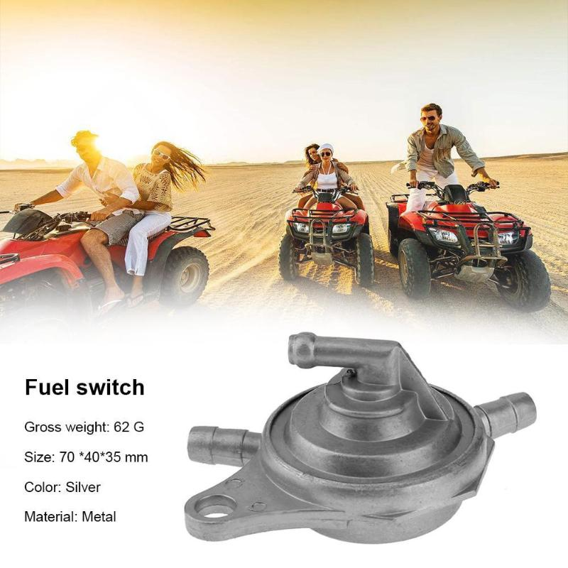Yingshop Fuel Pump Gas Valve Switch Carburetor Petcock Shut Off Switch Carb for GY6 150cc 200cc 250cc Engine ATV Scooter Go Kart Moped Chinese 2 P