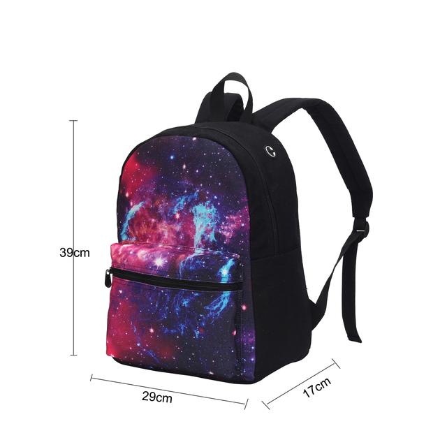 Sasuke Uchiha Canvas School Bag