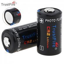 цена на TrustFire 2pcs CR2 3V 750mAh Lithium Battery with Safety Relief Valve for Flashlight / Headlamp / Camera
