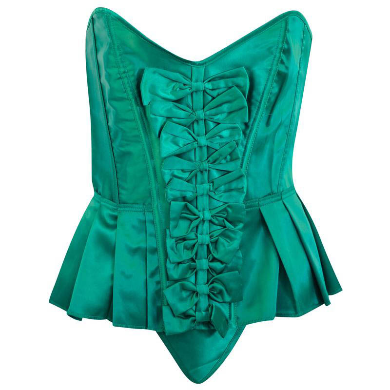 Sexy Corset Lace Up For Women 3 Color Plus Size Waist train Corset Blue Corset And Bustier Outwear Corset Top W1665