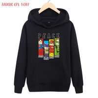 2017 Hot Marvel Comics De Avengers Superheld Trui Hoodie Spider Superman Iron Man Hulk Gedrukt Fleece Mannen Casual Kleding