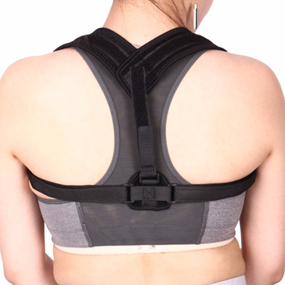Breathable Design Men Women Back Support Belt Posture Corrector Brace Body Health Care Humpbacked Prevent Support Belt Hot New