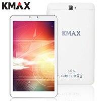 KMAX 4G Telefone Tablet PC Android 5.1 8 polegada 4G Internet Quad núcleo MT8735 Tablet PC 2 GB 16 GB GPS Wifi Bluetooth Câmera 2.0MP 5.0MP