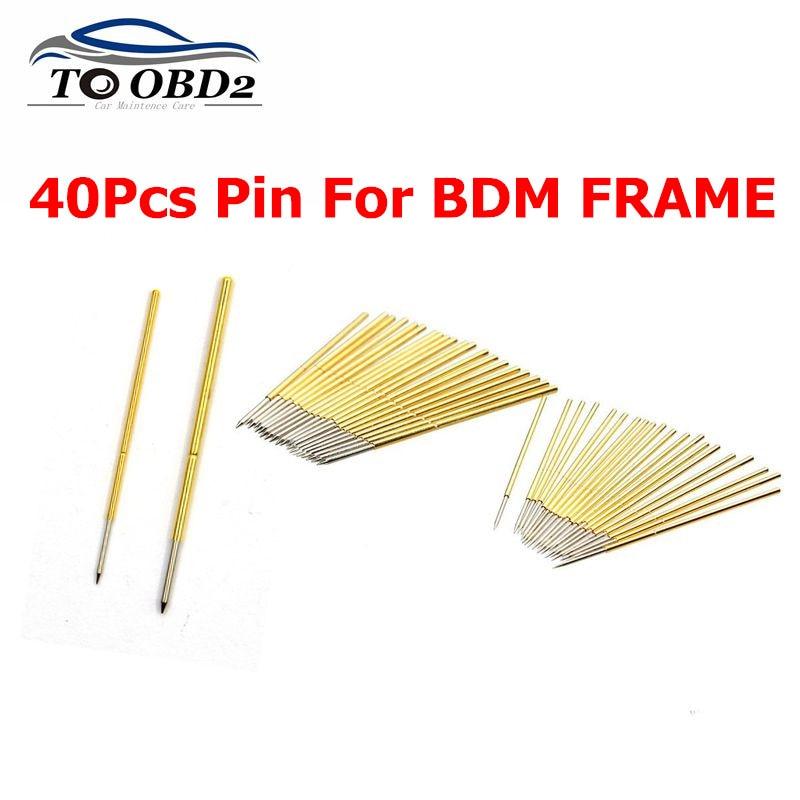 BDM Pin For 40pcs Needles For BDM FRAME Tool Pin For BDM 100 ECU Programmer Ktag K-tag Kess V2 Fgtech Ecu Programmer Tool