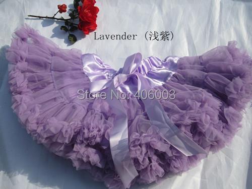 Bebé chicas de moda las faldas cortas del verano muchachas de los cabritos de moda púrpura mullido gasa pettiskirt