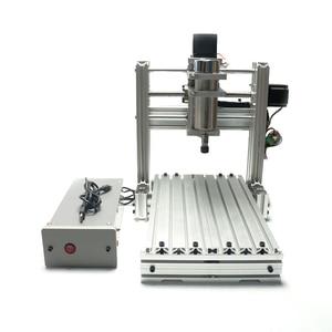 Image 3 - 3 4 5 ציר אלומיניום מיני cnc נתב מכונת עבור עץ בולט תבליט pcb pvc DIY כרסום קידוח חריטת כדור בורג USB