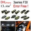 17 unid X DHL libre F30 de canbus free Error Kit de LED Luz Interior para bmw serie 3 F30 320i 328i 328d 335i (2012 +)
