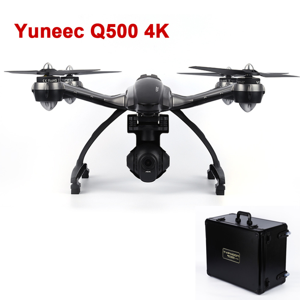 With Carry Box YUNEEC Q500 with 4K HD Camera 10CH RC FPV Drone Quadcopter Helicopter VS DJI phantom 3 DJI Inspire 1