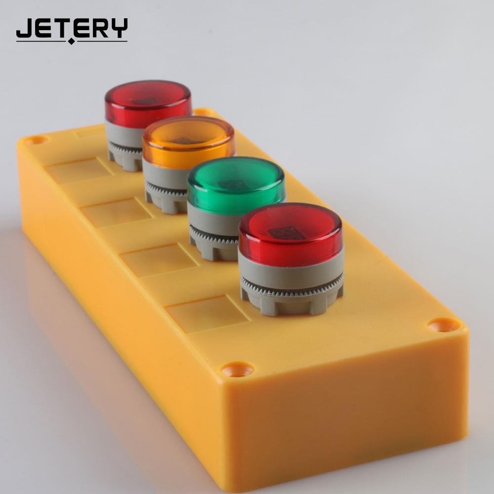 Voltage Meter Indicator Measuring Tool Pilot Light Durable 22mm Practical Household Supply Volt Gauge Voltmeter