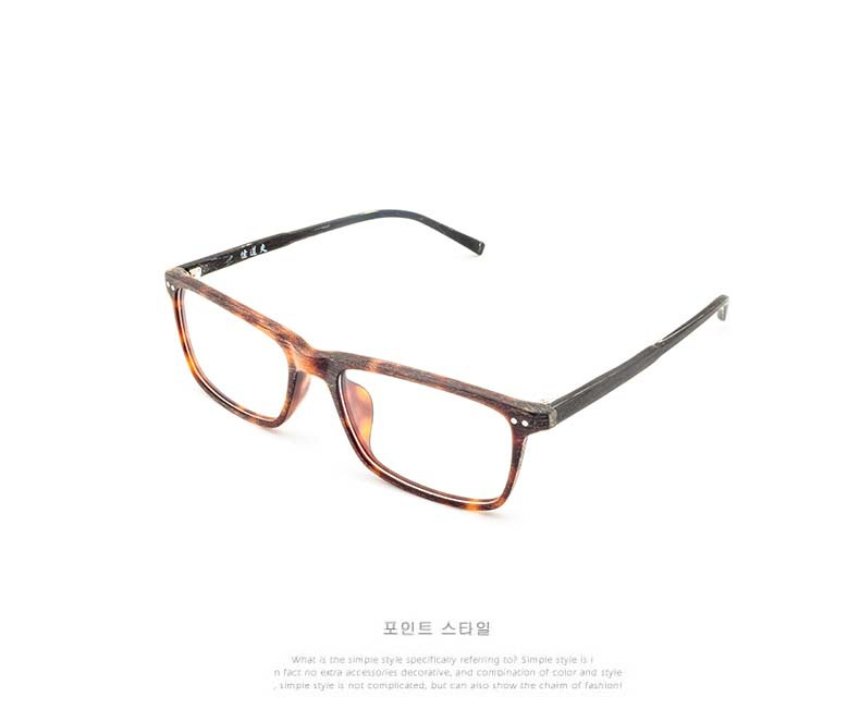 Man Wooden Eyeglasses Frame Men Eyewear Male High End Classic Myopia ...