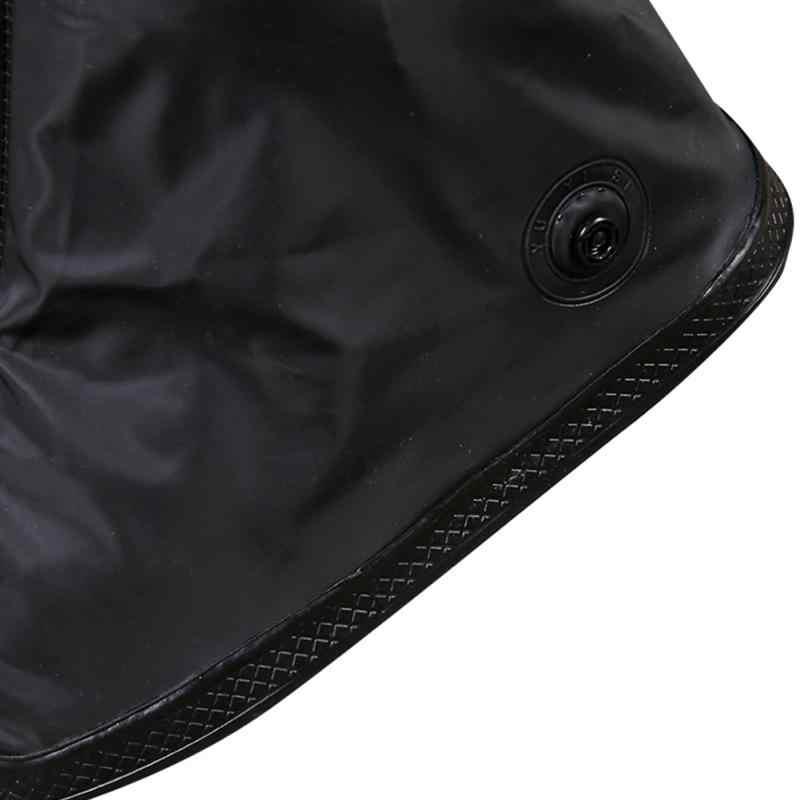 1 cặp 2019 Mới Có Thể Tái Sử Dụng Giày Bọc PVC Unisex chống Trơn Trượt chịu Mài Mòn, Mẫu Chống Thấm Nước cho Giày Bao Trung -Ống
