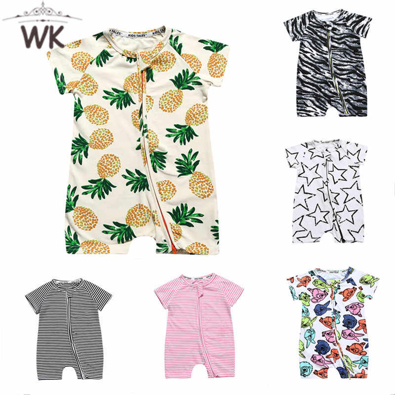 c2c37a772e2d 2019 New Summer Baby Boys Romper figure style Short Sleeve infant rompers  Jumpsuit cotton Baby Rompers