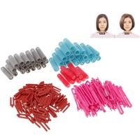 Lots Portable Hair Root Curling Fluffy Hairstyling Design DIY Curler Rods