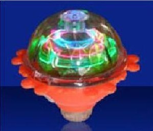 Luminous spinning top flash spinning top spinning top belt laciness light-up toy