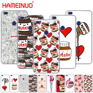 HAMEINUO chocolate Food Tumblr Nutella Cover phone Case for huawei Ascend P7 P8 P9 P10 P20 lite plus pro G9 G8 G7 2017(China)