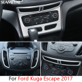 For Ford Kuga Escape 2013 2014 2015 2016 2017 Car Central Air Conditioning Outlet Cover Stickers Internal Decoration Accessories