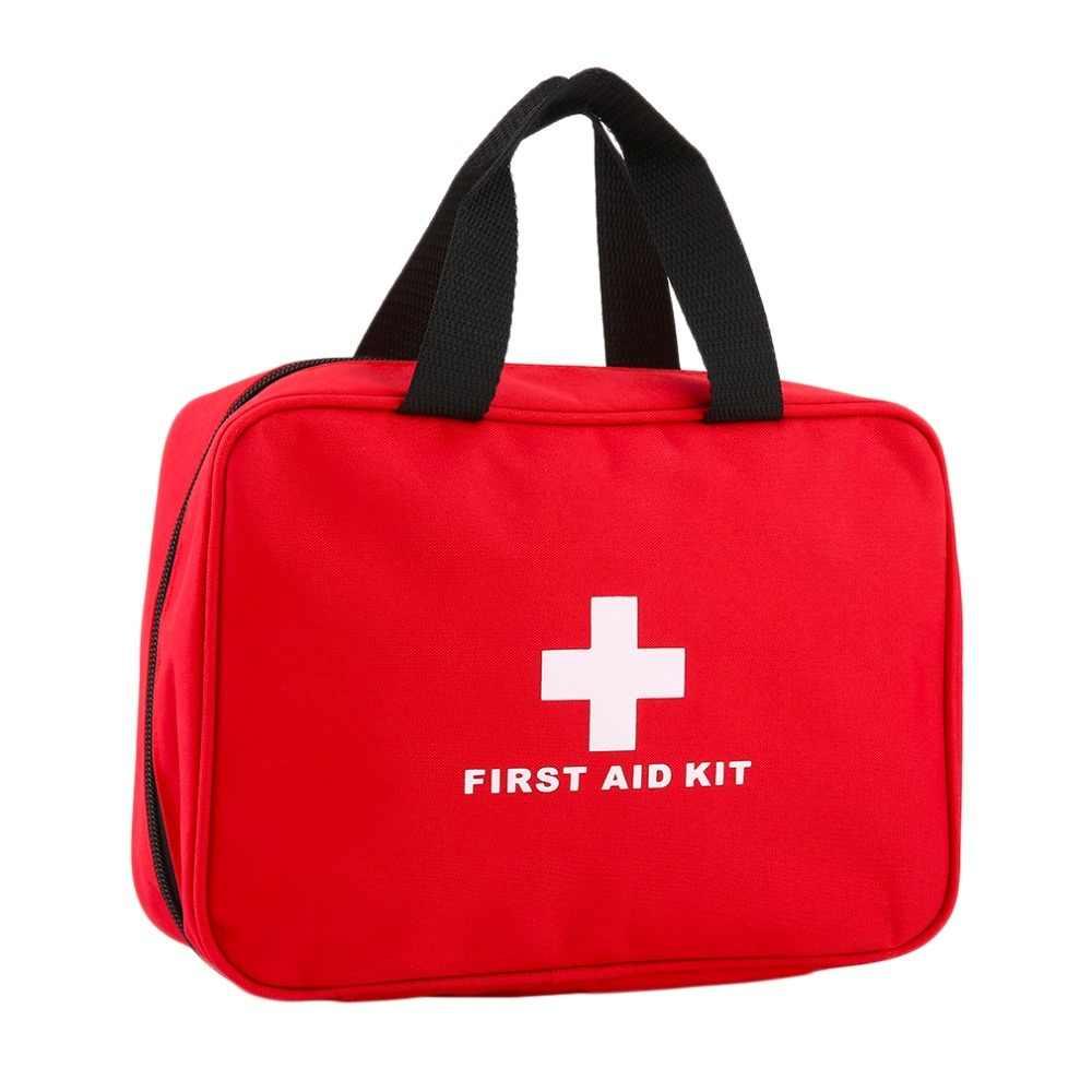 Ilk Yardım Kiti Araba Seyahat Ilk Yardım Çantası Büyük Açık Acil Durum Çantası Kamp Survival kitleri tıbbi çanta