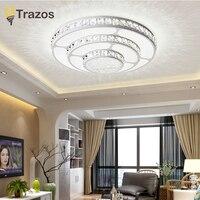 Hot Crystal Modern Led Ceiling Lights For Living Room Bedroom Home Indoor Decoration Led Ceiling Lamp