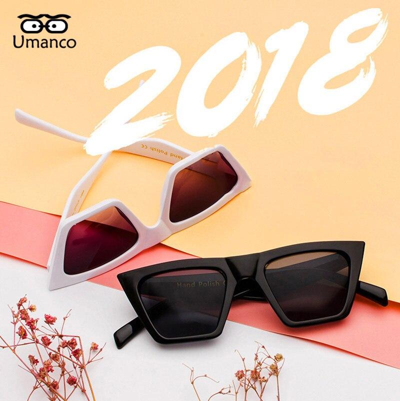 164ddc93b5 Gafas de sol de moda Umanco con montura cuadrada grande de gran ...