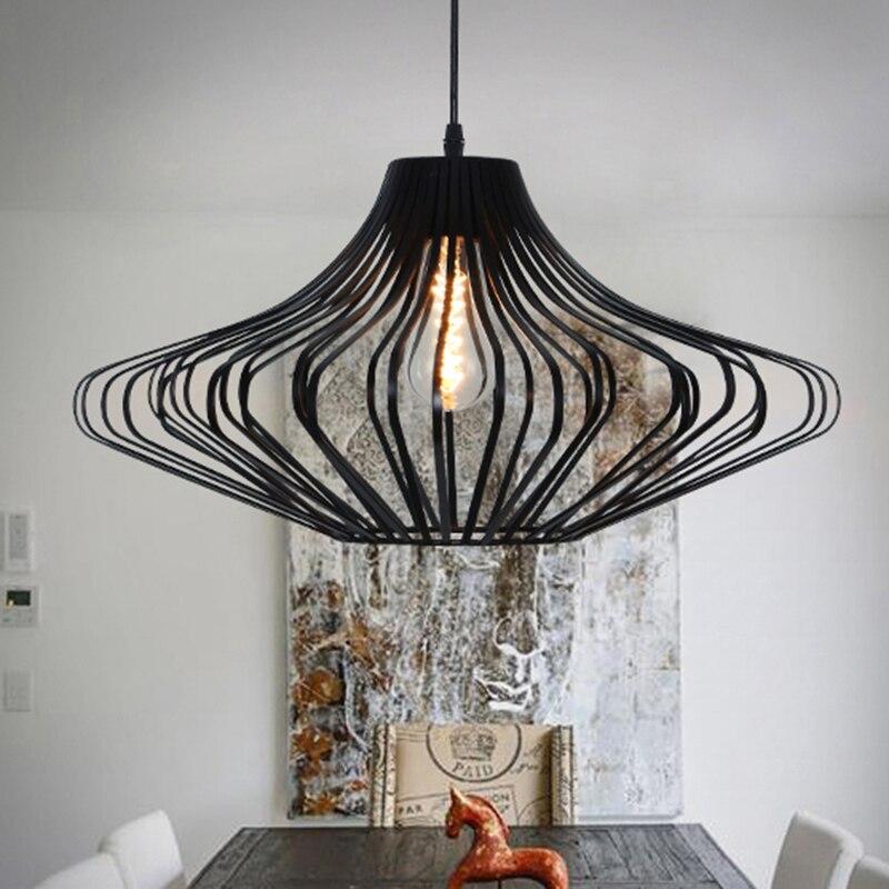 loft vintage pendant lamp aluminum iron retro lighting fixtures industrial style lamparas de techo vintage edison