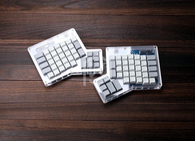 US $29 9 |xda ergodox ergo pbt blank keycaps custom mechanical keyboards  Infinity ErgoDox Ergonomic Keyboard keycaps-in Keyboards from Computer &