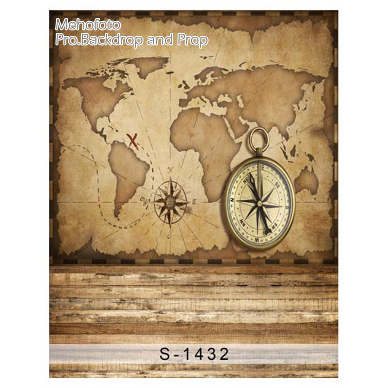 Photographic backgrounds map compass navigation ancient world travel photographic backgrounds map compass navigation ancient world travel customization children backdrop photocall photo props in background from consumer gumiabroncs Gallery
