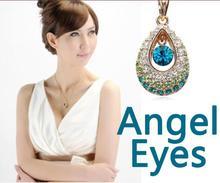Diamond Jewelry Usb Stick Pen Drive Angel Eyes Crystal 16gb 32gb 64gb Usb Flash Drive 1TB Memory Stick Gifts Gadget Pendrive 2TB