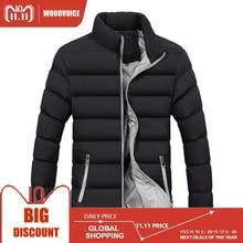 Новая зимняя мужская куртка, лидер продаж, Брендовые повседневные мужские куртки и пальто, толстая парка, мужская верхняя одежда высокого качества, мужская одежда