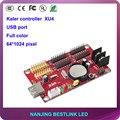 Kaler XU4 sete cores 64*1024 pixels porta USB cartão de controlador de led para o painel levou ao ar livre eletrônico levou kit diy levou placa de exposição