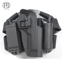 Two Pouches Tactical Holster Airsoft Pistol Holster For Beretta M9 92 96Leg