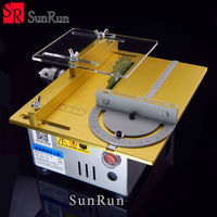 Mini table saw/12V 24V portable DIY wood Cutting machine, desktop buddha beads polish machine,metal/Acrylic cutter