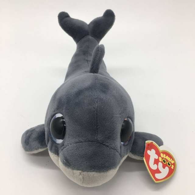 8ba88deab91 Online Shop ECHO dolphin fish with tag and label TY BEANIE BOOS 1PC 15CM Plush  Toys Stuffed animals KIDS TOYS VALENTINE GIFT