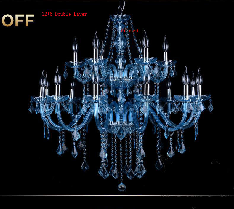 K9 Crystal Chandelier Lighting Lamps Lustres Lampadari Living Room Bar Cafe Deco lustres para quarto Glass Blue Crystal Lamps led chandeliers for dining room bedroom kitchen white color k9 crystal chandelier light for home decoration lustres para quarto