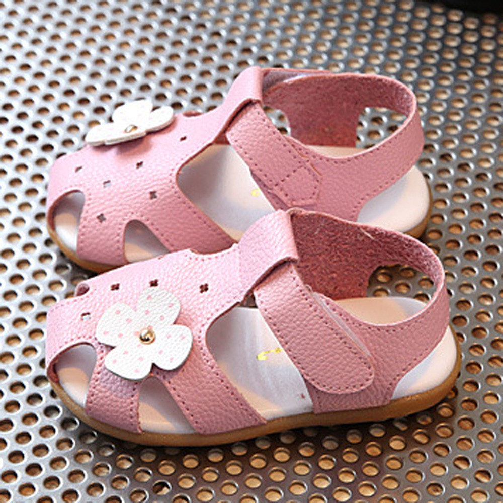 ARLONEET Sandals girls shoes fashion shoes for girls Summer childrens shoes 2018 Sneaker Children Boys Girls Flower Casual JAN8
