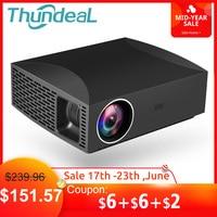 ThundeaL проектор Full HD F30 NIC 1920x1080 5500 люмен 3D видео светодиодный ЖК дисплей дополнительно F30 до WiFi Android Bluetooth F30Up Beamer