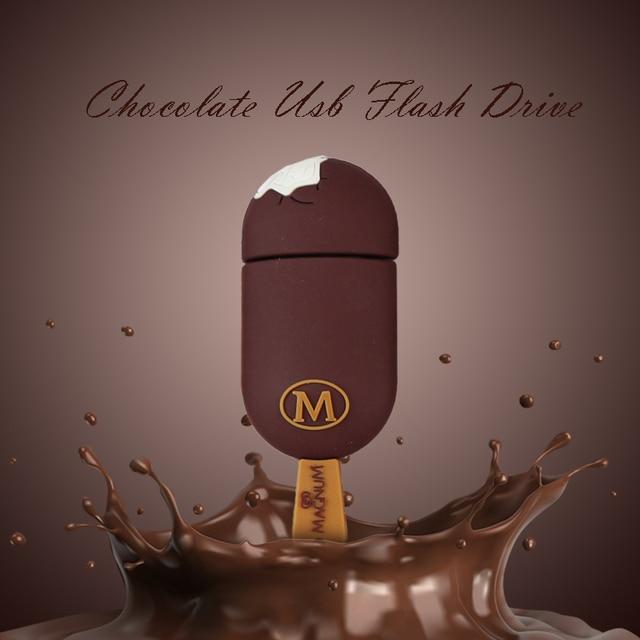 Chocolate Ice Cream Usb 2.0 stick Flash Drive 32gb 16gb