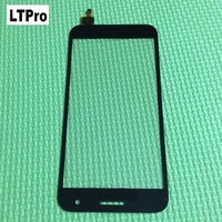 New Black Front Panel Touch Screen Digitizer Glass Lens For Huawei Ascend G7 Repair Replacement Parts